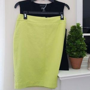 Bright Green Pencil Skirt